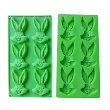 Bugs Bunny Rabbit Hare Silicone Chocolate Candy Candle Soap Crayon Ice Mold