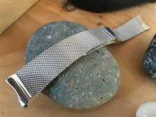 1960s Stainless Steel Mesh JB Champion USA New Old Stock Vintage Watch Band nos