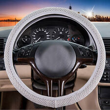 hot sale Sandwich Fabric Handmade Steering Wheel Cover Breathability Skidproof