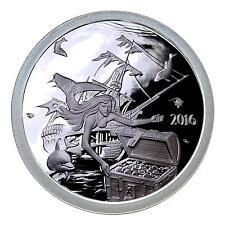 2016 ~ 1~OZ .999 SILVER ROUND~ SILVERBUG ISLAND MERMAID ~ PROOF ~CAPSULE~ $33.88