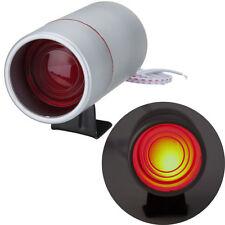 12V Silver Case Tachometer Tacho Gauge RPM Shift Light Lamp Red LED Univeral