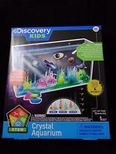 Discovery Kids Crystal Growing Aquarium Kit Magic Rocks