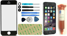 Front Outer Screen Glass Lens Replacement Kit for iphone 6 Black LOCA Glue