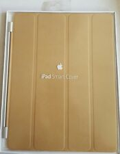 NEW GENUINE APPLE IPAD 2/3/4 SMART COVER LEATHER TAN MD302ZM/A
