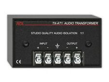 RDL TX-AT1 600 Ohm Audio Isolation Transformer