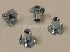 4x T-Nuts 8mm tazza diametro (M8) per arredamento, DIVANO, settees, SEDIE, posapiedi