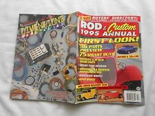 ROD & CUSTOM  1995 ANNUAL Magazine-FIRST LOOK! '96 PARTS PREVIEW 75 SMART BUYS