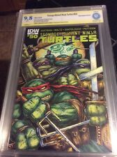 TEENAGE MUTANT NINJA TURTLES 50 CBCS 9.8 SIGNED BY EASTMAN Death of Shredder