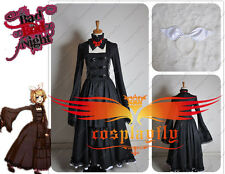 Vocaloid Kagamine Bad End Night Rin Cosplay Costume Black Lolita Dress Customize