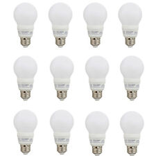 Sylvania A19 40W 120V E26 Non-Dimmable White Daylight LED Light Bulbs (12 Pack)
