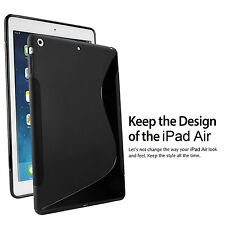 Shockproof Anti-Dust Thin Fit [Corner Protection]Soft Rubber Case for iPad Air 5