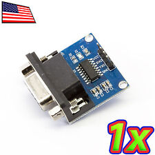 [1x] MAX232 DB9 RS232 to Serial UART TTL Converter Module - 3.3 to 5.0V IO