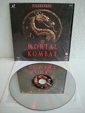 Mortal KOMBAT | LASER DISC PAL INGLESE | LD: come NUOVO | cover: come NUOVO | MINT