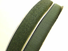 25mt ARMY GREEN RIPFAST™ HOOK AND LOOP 20mm TAPE TOUCH AND CLOSE SEW TAPES