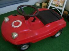VINTAGE  VW  buggy  MANX,  nice  shape, plastic &  electric child ride on /SEARS