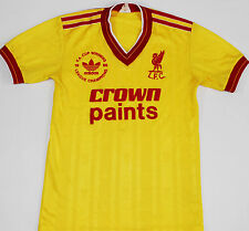 1986 LIVERPOOL ADIDAS THIRD FOOTBALL SHIRT (SIZE LB)