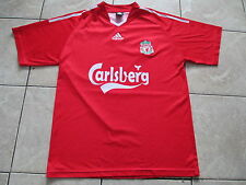 Adidas Liverpool Football Club Red White Number 9 T Shirt Large L XL X-Large