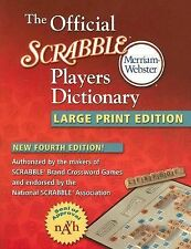 THE OFFICIAL SCRABBLE PLAYERS DICTIONARY-LARGE PRINT (2005, Paperback)