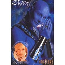 Virginia Hey as Zhaan on Farscape Autographed Picture
