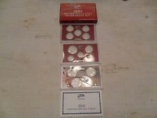 2010 *SILVER* Proof Set Box and Lenses ONLY