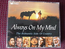 Readers Digest.Always On My Mind.The Romantic Side Of Country.5 Disc Box Set.EXC