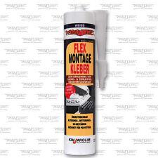 Kim-Tec Flex Montage Kleber 319g. (13,32€/kg) Sockelleisten Polysterolkleber