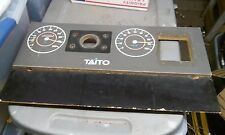 taito chase h.q. arcade wooden control panel