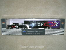 BROOKFIELD SPORTS IMAGE CHEVROLET RACING CREW CAB & TRAILER EARNHARDT HAULER-NEW