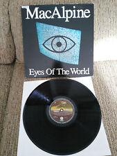 """TONY MACALPINE EYES OF THE WORLD LP 12"""" VINYL VINILO VERTIGO SPANISH ED VG/VG"""