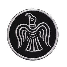 Odin Raven Emblem Viking Norse Mythology Badge Embroidered Patch 3""