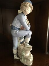 "Lladro # 5395 ""VALENCIAN BOY"" Rare & Retired FREE SHIP MINT L@@K MAKE OFFER"