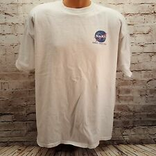 """I NEED MY SPACE"" Kennedy Space Center NASA White T-Shirt XLarge"