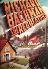 �� The Regulators Richard Bachman HardCover Book True First DJ VF Stephen King