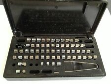 VINTAGE UNDERWOOD ELLIOT FISHER NUMBERS MONTHS DATE PARTS REPLACEMENT
