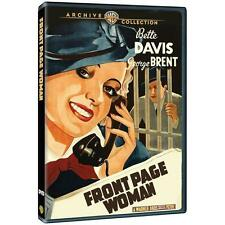 NEW FRONT PAGE WOMAN DVD Bette DAVIS George BRENT FREE SHIPPING!!��!!