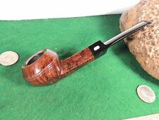 UNSMOKED SQUAT BULL DOG WEBER EXCELLENT DRILLED BEAUTIFUL GRAINS SILVER LOGO