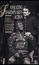 Analyzing Shakespeare's Action: Scene versus Sequence