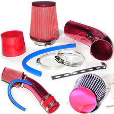 "2.5""-3.0"" UNIVERSAL COLD AIR Intake INDUCTION HOSE KIT System & Narrow Filter RD"