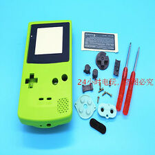 Green Housing Shell Case Parts+Screwdrivers for Nintendo Gameboy Color GBC