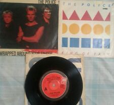 The Police (Sting] 3 single vinyl Records.2 picture covers.