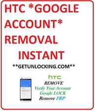 HTC 10 M10 A9 M9 626 530 728 AND  MORE FRP GMAIL GOOGLE ACCOUNT REMOVAL REMOTLY