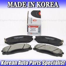 BP006 For Hyundai Santa Fe KIA Sedona Sorento FRONT Brake Pads OEM 58101-26A00