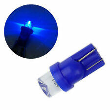 5 Blue led wedge globes T10 5w ,suits many cars, dash & number plate lights