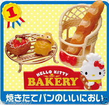Re-ment Sanrio miniature Hello Kitty Donuts Cake & Bread Shop Bakery Set RARE #1