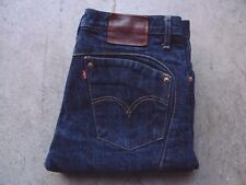 Vintage Levis Big E Redline Selvedge Denim Jeans Size 34 552 1293 80687 4 Raw