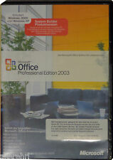MS OFFICE 2003 Professional Vollversion(Non-OSB) BOX Key CD/DVD 32/64PC Windows