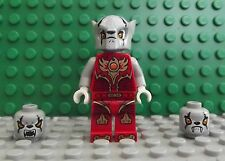 Brand New Lego Legends of Chima Worriz - Fire Chi Mini Figure Double Sided Face