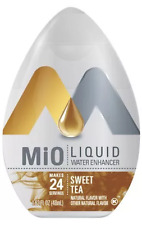12 (PLUS 1 FREE) Bottles Of  MiO SWEET TEA WATER FLAVOR ENHANCER