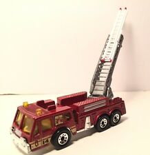 1982 Matchbox Fire Engine extending ladder Diecast metal toy scale 1/64 1290 EA.