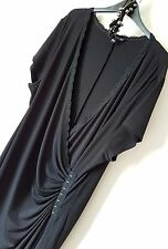 GOTHIC Black Wrap Maxi Dress 24 Lace Urban Evening Dress Afternoon of an Epic